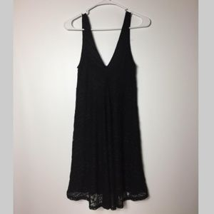 Forever 21 Women's Dress Size S Lace Black